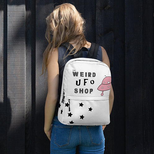Pink Classic UFO & Alien Backpack