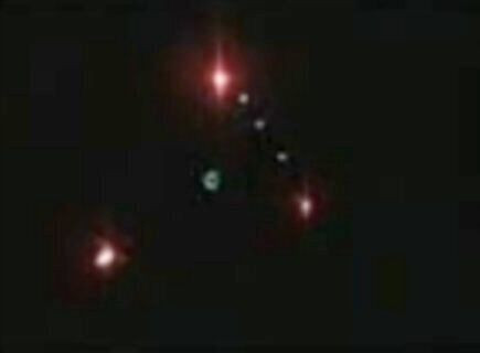 Triangle UFO sighting