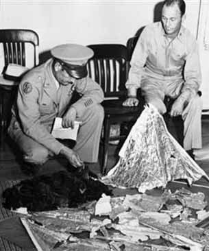 Roswell UFO crash debris