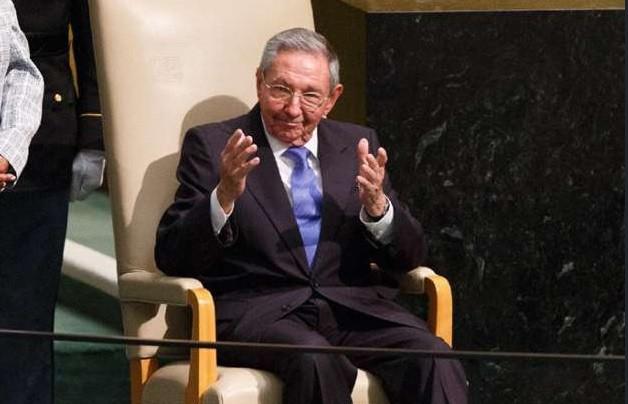 Cuban President Raul Castro UN