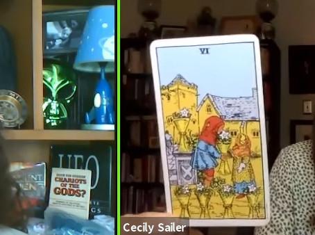 UFOJane Gets a Tarot Card Reading!