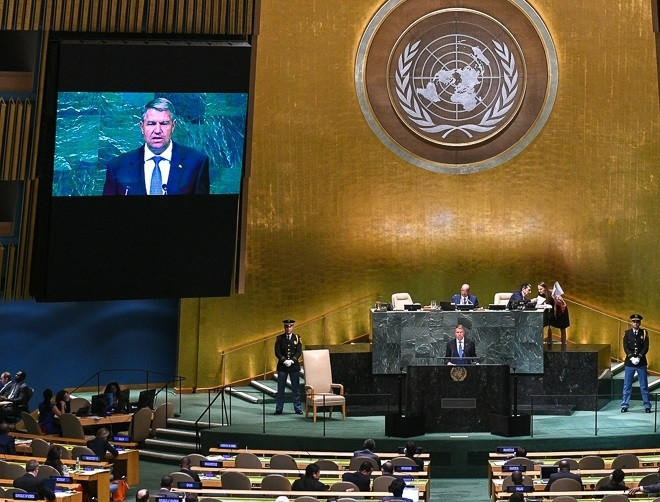 Modern-day UN speech