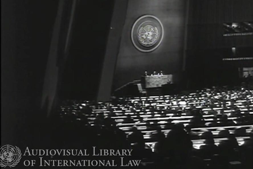 1963 UN Speech by H.I.M. Haile Selassie I Emperor of Ethiopia