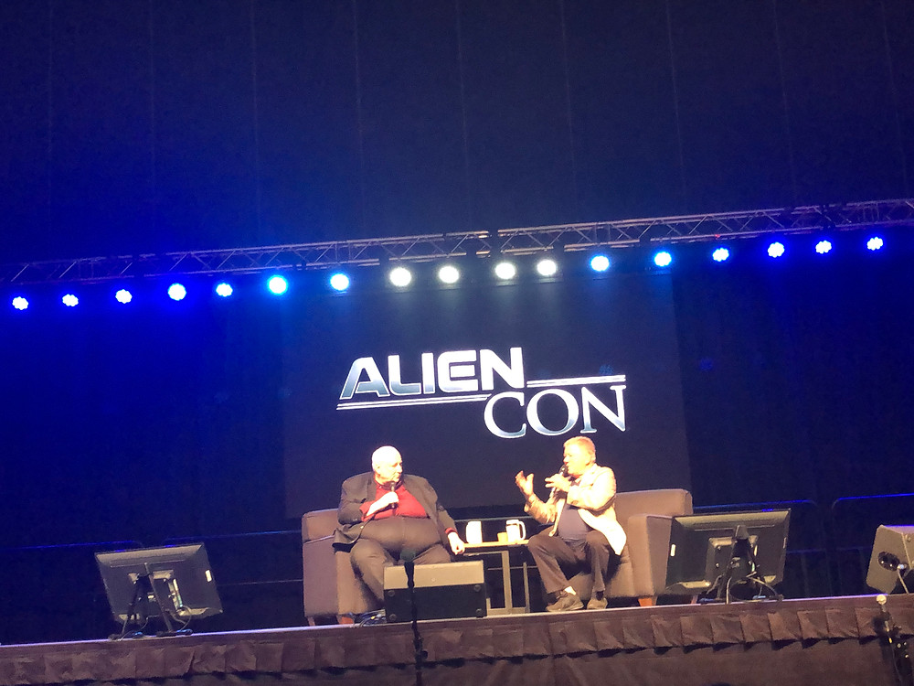 William Shatner Alien Con panel