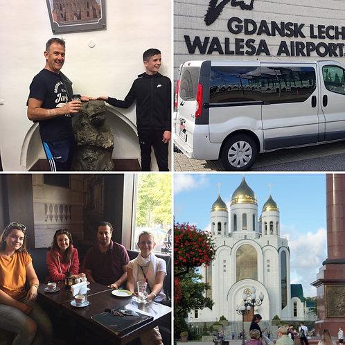 Per 4-7 people: Gdansk-Kaliningrad (5h Tour with Guide)-Gdansk