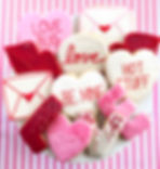 Traditional Be My Valentine Sugar Cookie