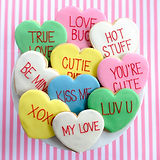 Cnady Hearts Sugar Cookies Cookies on th