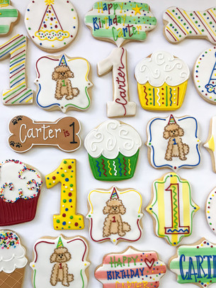 Dog Themed First Birthday Party Cookies.jpg