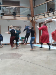 Creative dance with youth (including Maynard project)
