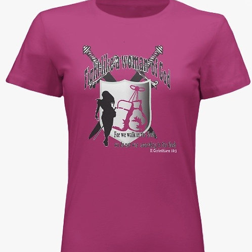 NHIM Fight Like a Woman of God Conference T-Shirt