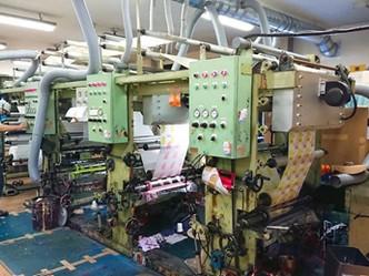 印刷工程の進み方