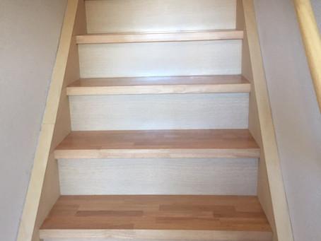 階段補修塗装工事✨