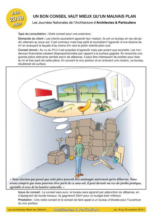 A&P JNA 2019 Conseil n° 5