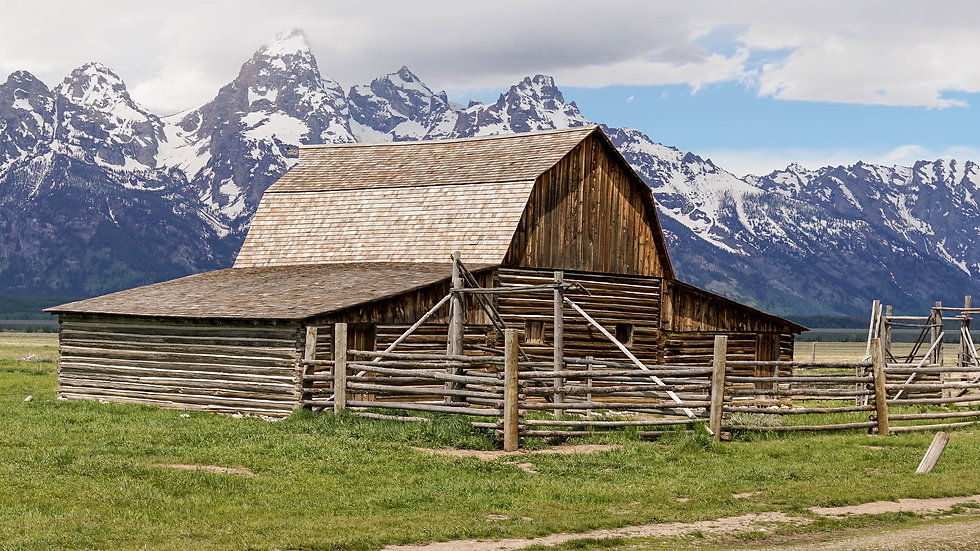 Mormon Row Barn 1