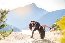 diablo lake engagement, seattle wedding photographer, seattle engagement photographer, seattle adventure photographer, snohomish wedding photographer
