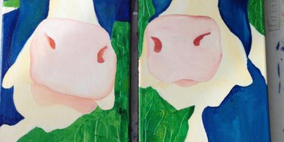 Acrylic Painting Class- Animals