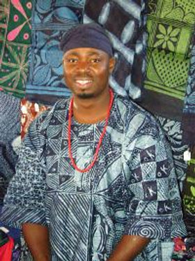 Adire Indigo Workshop with Gasali Adeyemo