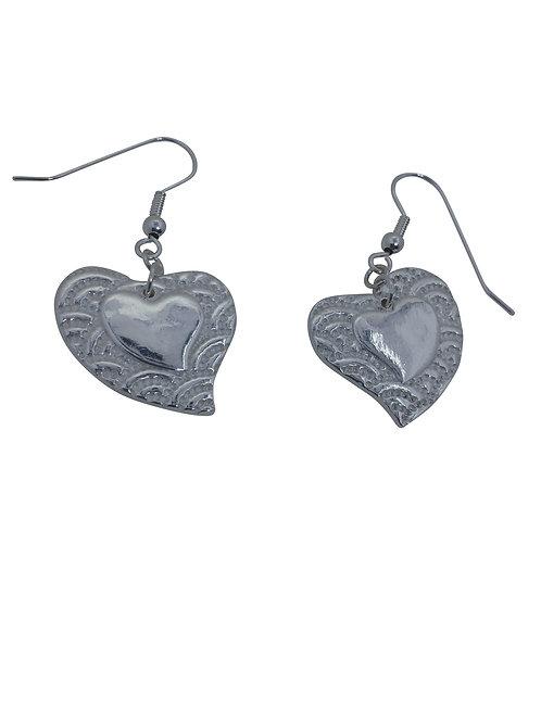 Beginner's Metal Clay- Earrings