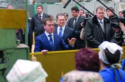 Дмитрий Медведев в Ижевске