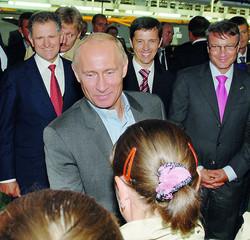 Визит Владимира Путина на ИжАвто