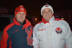 С Главой Удмуртии А. В. Соловьевым.