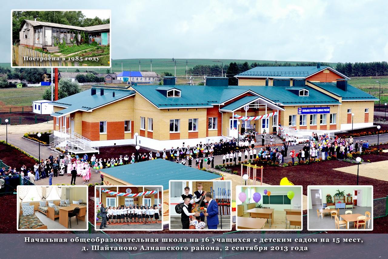 Школа Шайтаново