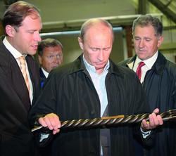 Визит Владимира Путина