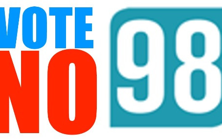Five Reasons to Vote No on 98