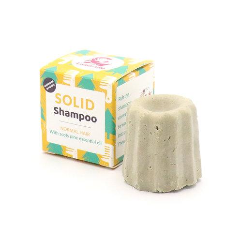 Lamazuna kietas plaukų šampūnas su pušų eteriniu aliejumi normaliems plaukams