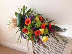 Bright and Colourful Tied Sheaf