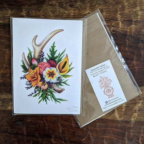 PNW Bouquet Print