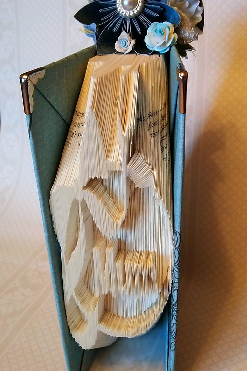 Pretty Mum Book Fold in Blue Shades