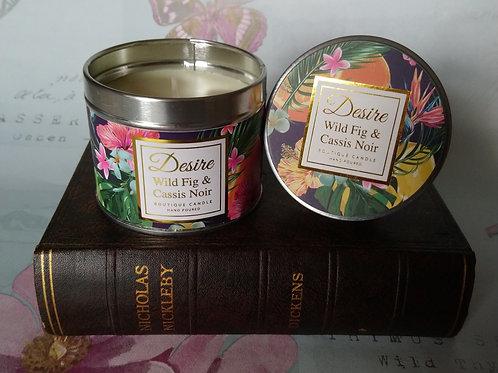 Wild Fig & Cassis Noir Fragranced Candle Tin