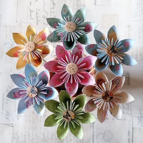 Spring Brights Kusudama Flowers
