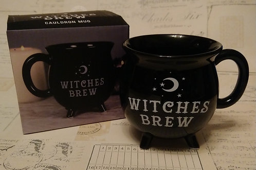 Cute Black Cauldron Mug