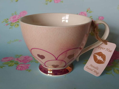 Pretty Heart Design Cup