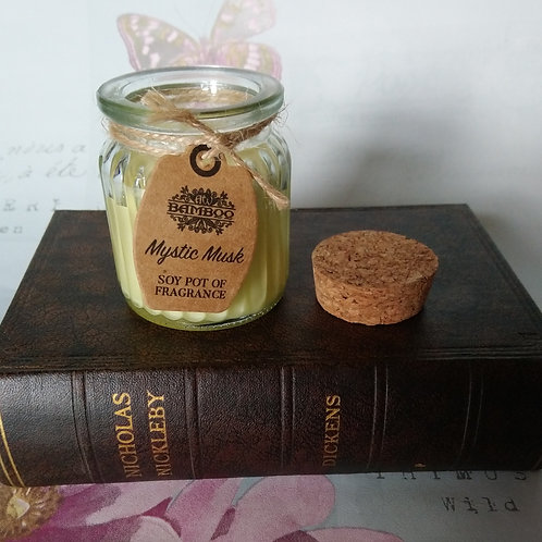Ancient Wisdom Mystic Musk Soy Pot of Fragrance Candle Jar