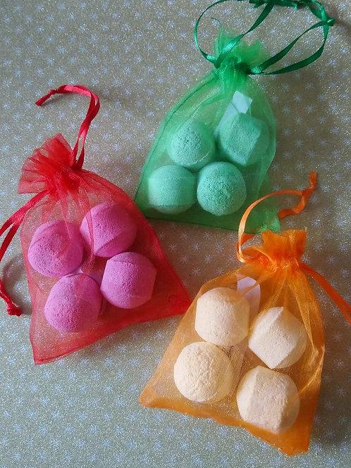 Beautiful Fragranced Mini Bath Bombs