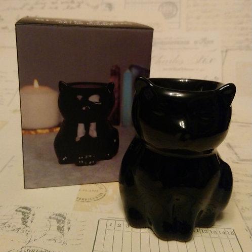 Adorable Black Cat Oil Burner