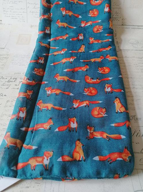 Cute Fox Print Scarf