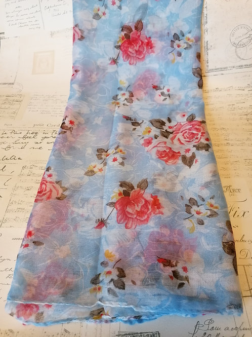 Ditsy Floral Print Scarf