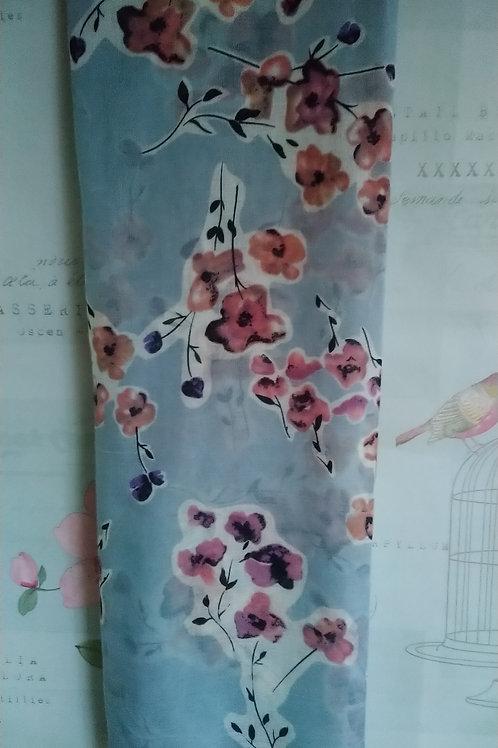 Pretty Floral Print Scarf