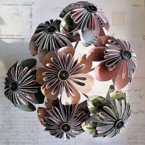 Jungle Vibes Round Kusudama Flowers