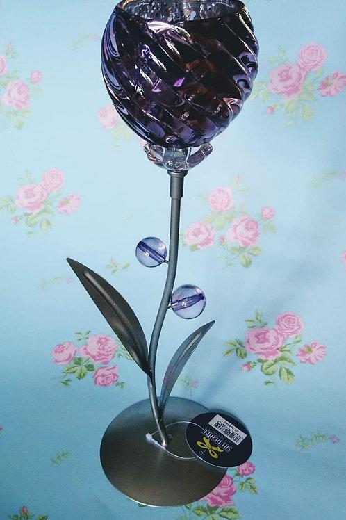 Gorgeous Purple TLight Holder