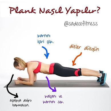 plank nasıl yapılır, plank yaparken yapılan hatalar