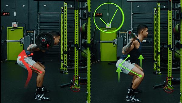 squat yaparken yapılan hatalar, squat yaparken yapılan yanlışlar