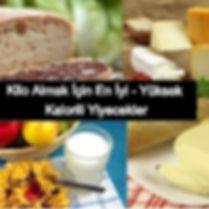 kilo almak için yüksek kalorili yiyecekler, kilo almak için en iyi yiyecekler, kilo alma besinleri, kalorisi yüksek gıdalar, kilo almak için ne yemeliyim, kilo almak için ne yenir