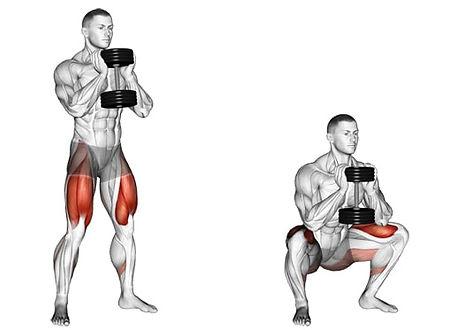 goblet squat, goblet squat nasıl yapılır