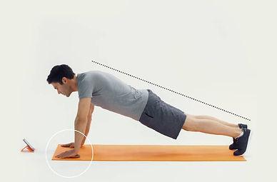 straight arm plank, straight arm plank nasıl yapılır