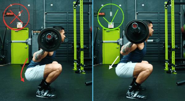 squat yaparken yapılan hatalar, squat yaparken yapılan yanlışlar, but wink, but wink nedir